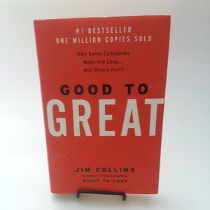 Book: GOOD TO GREAT BY JIM COLLINS